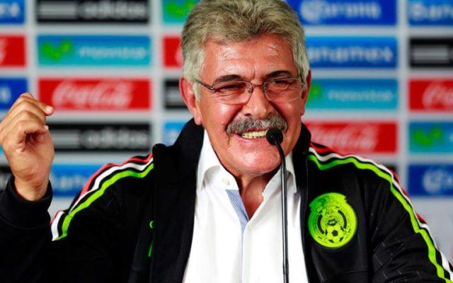 """Gane o pierda México, me iré satisfecho: """"Tuca"""" - Foto de Internet"""