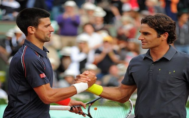 Djokovic y Federer comparten grupo en finales de ATP
