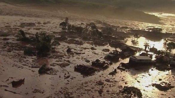 Un muerto y varios heridos por rompimiento de presa en Brasil - Foto de SkyAlert