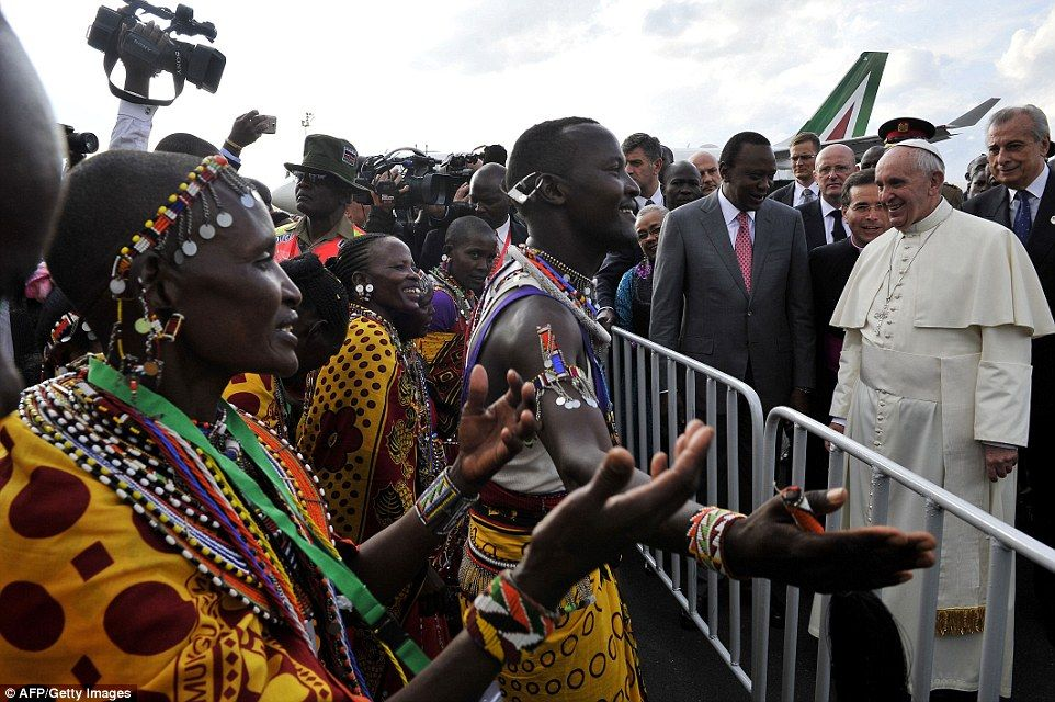 La violencia en Kenia, país que recibió al papa Francisco - Foto de AFP/Getty Images