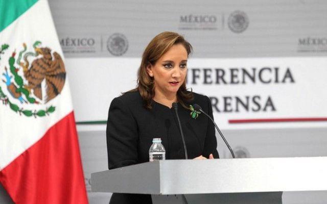 No está descartado encuentro entre EPN y Hillary Clinton: SRE - Claudia Ruiz Massieu, titular de la SRE. Foto de SRE
