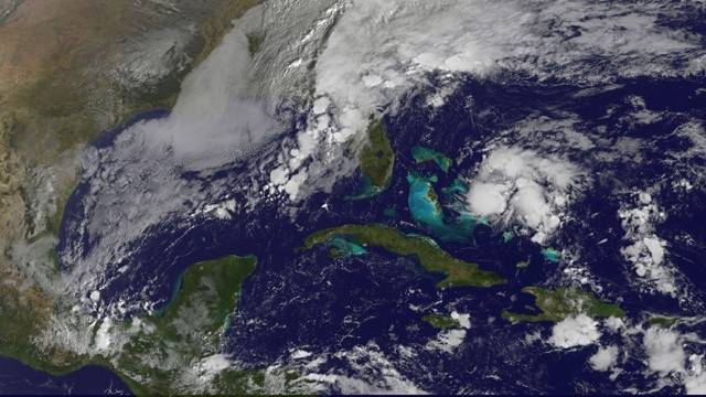 Se forma la tormenta tropical Kate - Foto de internet