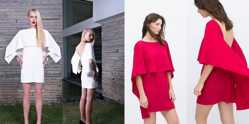 Zara pudo haber copiado vestido de diseñadora mexicana