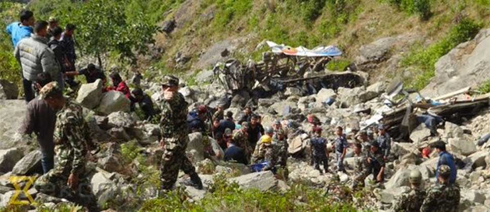 Mueren 30 en accidente de autobús en Nepal - Foto de @News_Executive