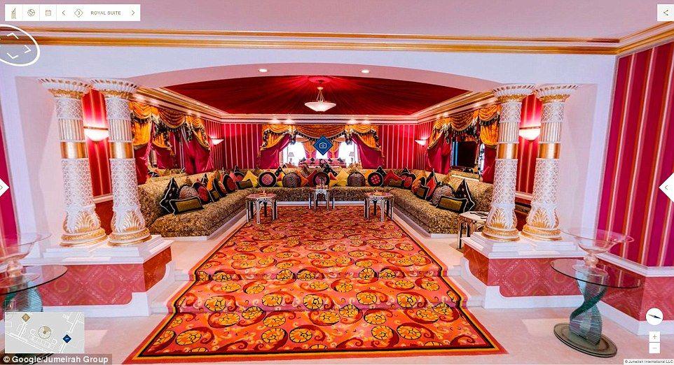 Conoce el hotel más lujoso de Dubai - Foto: Google