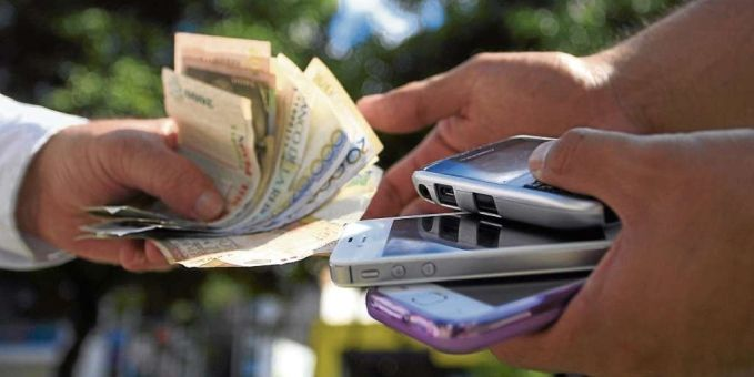 Robo de celulares deja ganancias millonarias - Foto de internet