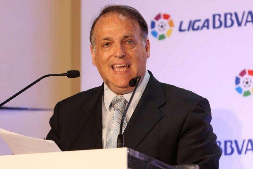 Javier Tebas, presidente de LFP. Foto de internet