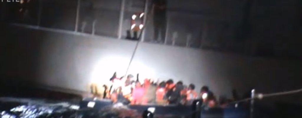 Video: tripulante de barco griego provoca naufragio de migrantes - Foto de YouTube
