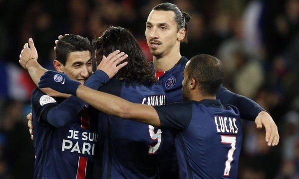 Zlatan sigue siendo el líder y la estrella del PSG. Foto de Daily Mail