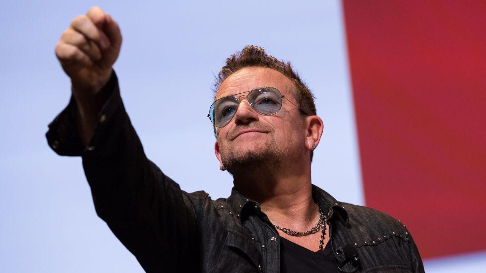 """""""Messi demuestra que Dios existe"""": Bono"""