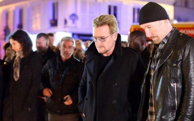 Eagles of Death Metal cantan con U2 en París - Foto de DPA/AP