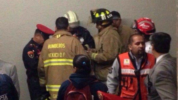 Muere hombre en la estación del metro Salto del Agua - Foto: internet