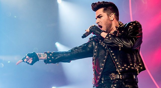 Piden cancelar concierto de Adam Lambert por ser gay