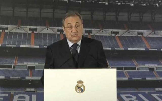 Creemos que la sanción no es efectiva: Florentino Pérez - Florentino Pérez, presidente del Real Madrid
