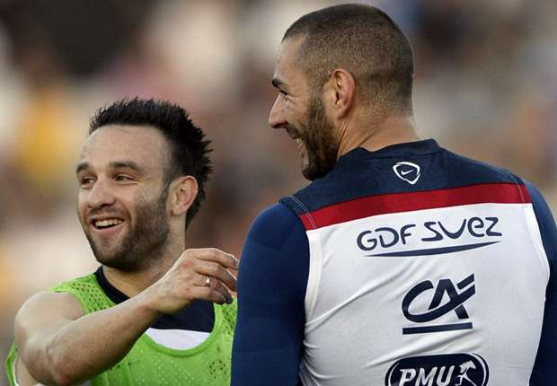 En su declaración, Benzema aseguró que Valbuena es su amigo. Foto de Goal
