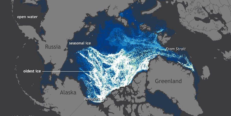 Video: el deshielo del Ártico en los últimos 25 años