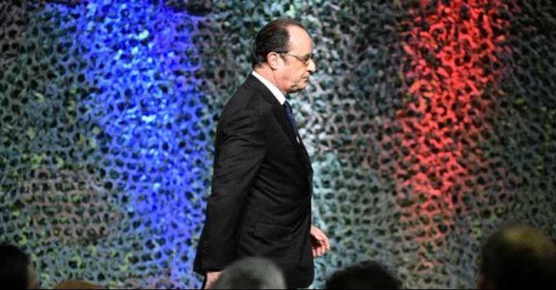Hollande anuncia que votará por Emmanuel Macron - Francois Hollande. Foto de AFP