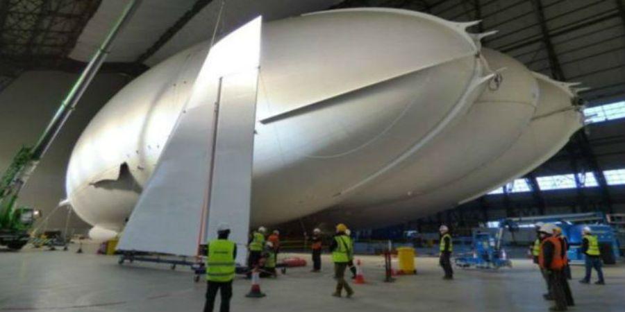En abril despegará aeronave más grande del mundo - Foto de internet