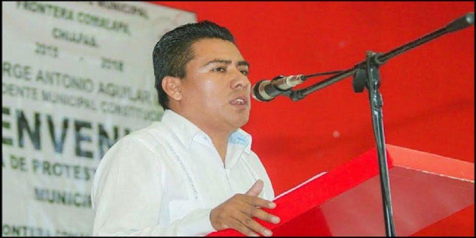 Detienen al alcalde de Comalapa, Chiapas