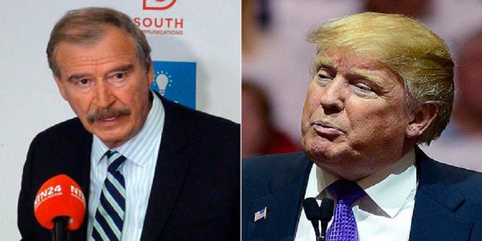 'Trump está chamaqueando a EPN': Vicente Fox - Foto de Archivo