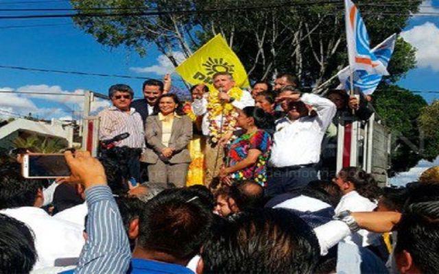 Obtiene registro Estefan Garfias como candidato del PAN-PRD en Oaxaca