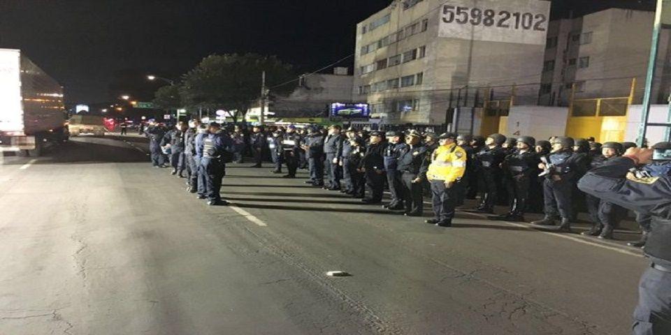 Operativo Mega detiene a 82 personas en la Cuauhtémoc
