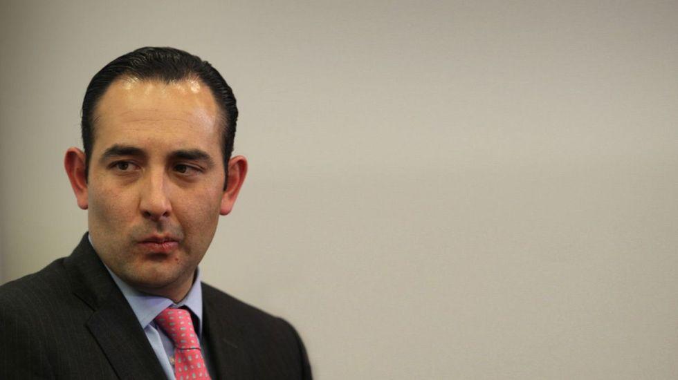 Roberto Gil Zuarth. Foto de archivo