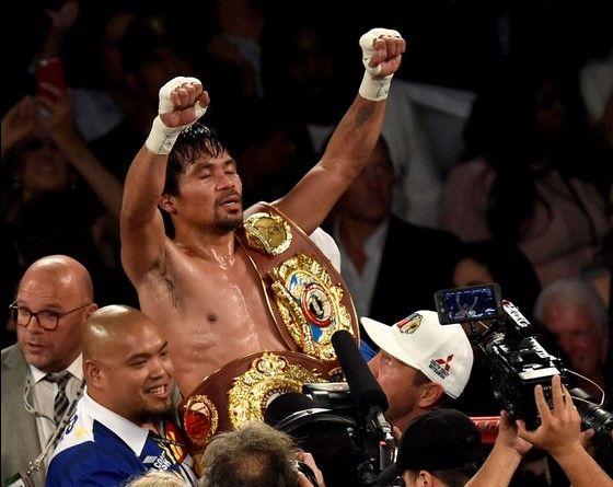Manny Pacquiao se retiró campeón