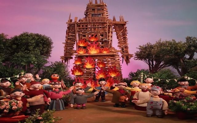 "Radiohead estrena video del sencillo ""Burn to the witch"""