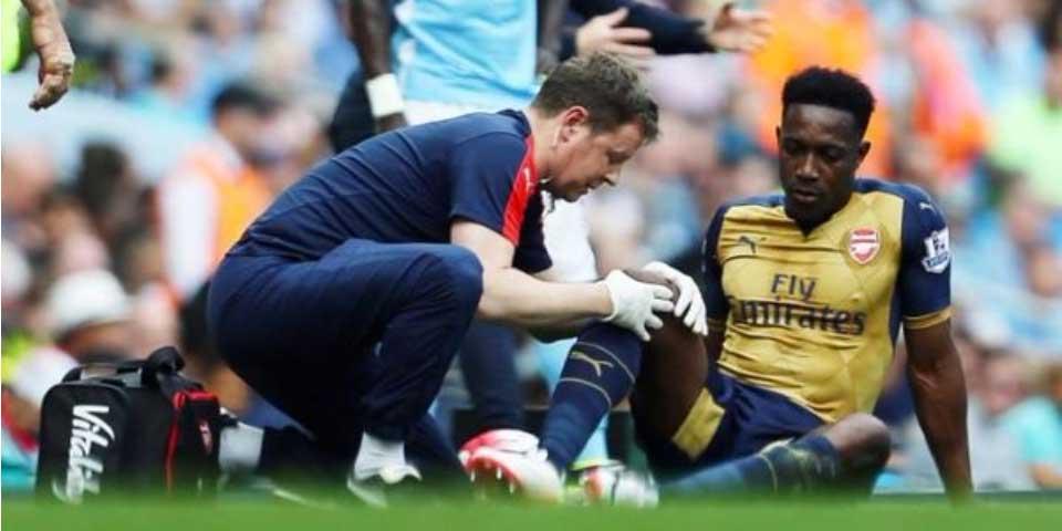 Danny Welbeck se perderá la Euro por operación de rodilla - Foto de @TeleFootball