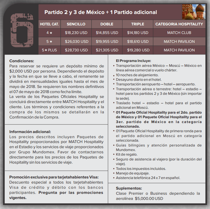 paquete mundomex 6