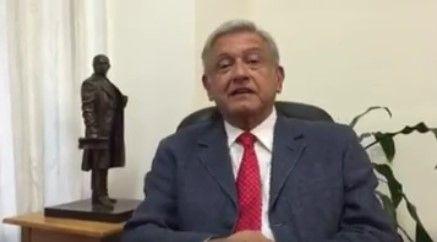 Café Político: ayer algo cambió para López Obrador - López Obrador. Foto de Facebook