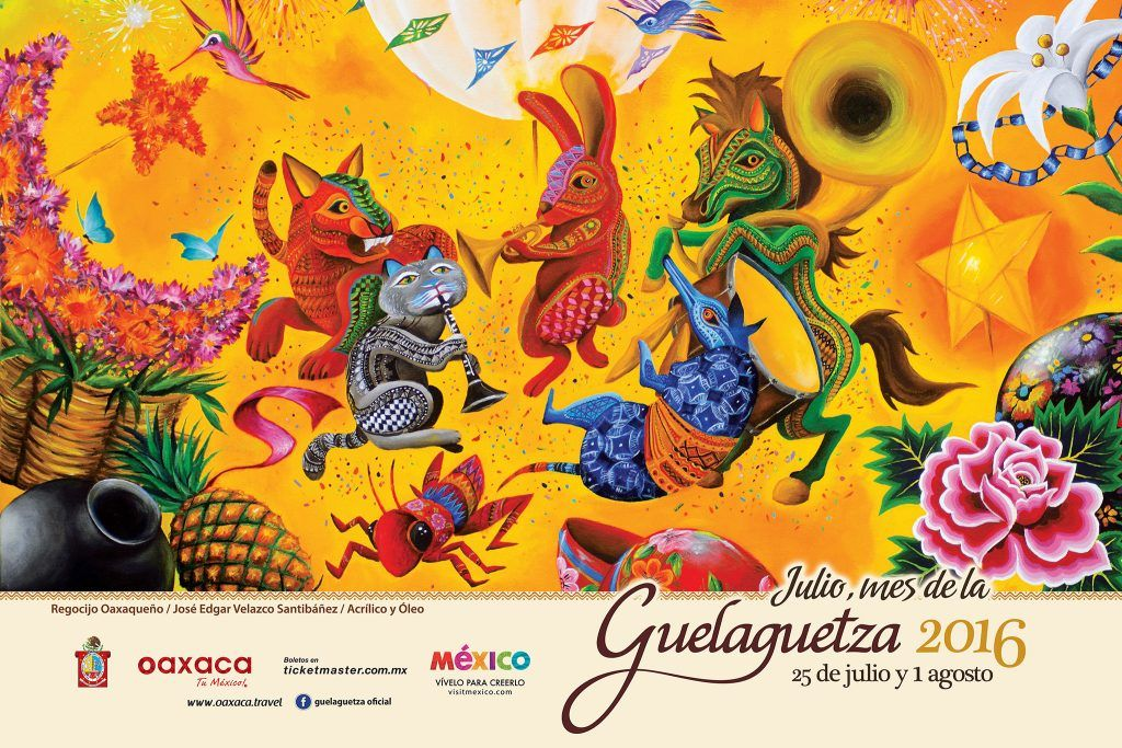 La Guelaguetza se celebrará el próximo 25 de julio. Foto de Oaxaca Travel.