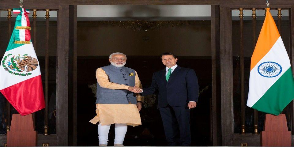 Conformarán México e India asociación estratégica en inversiones - Foto de Presidencia de la República.