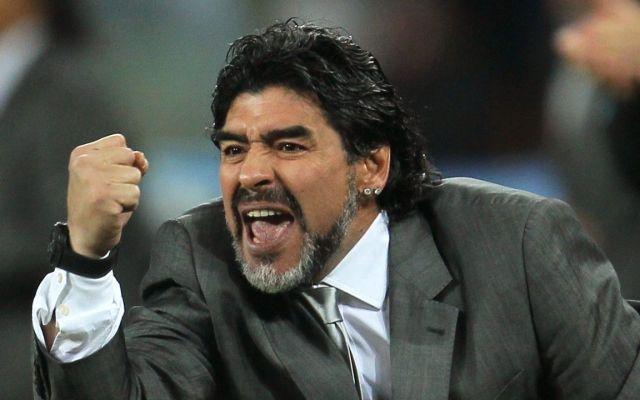 Maradona manda felicitaciones a Almeyda tras título - Foto de Internet