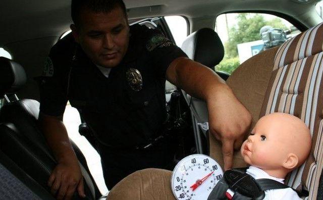 Niño muere por calor extremo dentro de un auto en Texas - Foto de Internet
