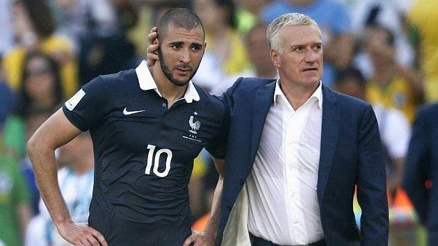 Karim Benzema arremete contra el seleccionador francés