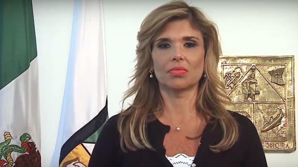 #Video Gobernadora de Sonora regaña a conductor de transporte público - Claudia Pavlovich. Foto de YouTube