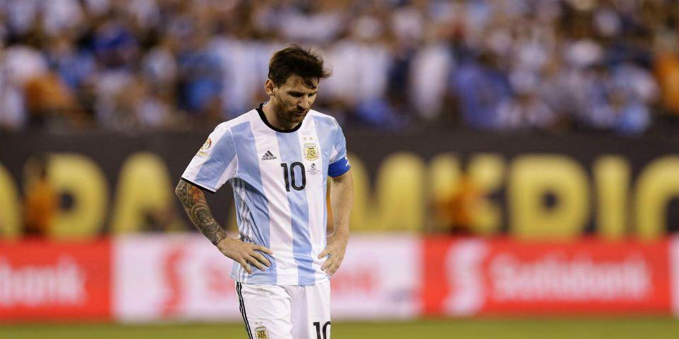 Nadie en la Selección sabía de la decisión de Messi - Lionel Messi. Foto de La Nación