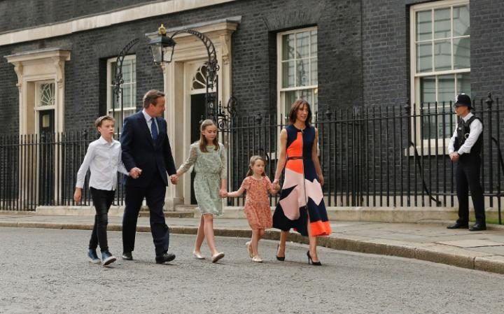 David Cameron y su familia se mudan a casa de un amigo - Foto de Telegraph
