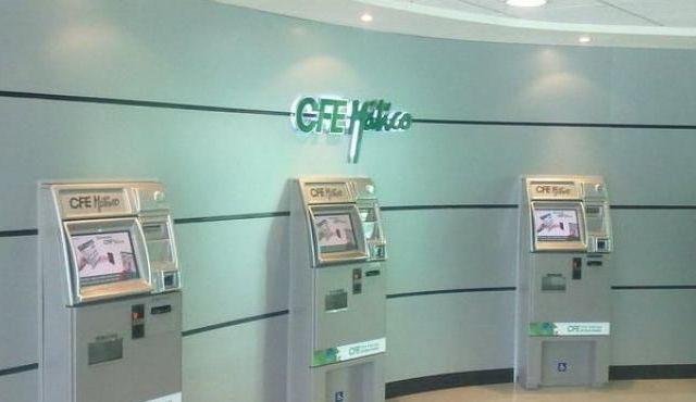 Fallan cajeros automáticos de CFE en Nuevo León - Foto de Internet