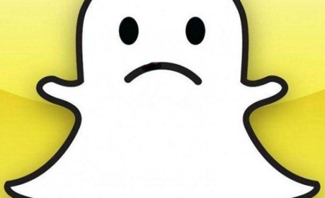 Sufre caída global Snapchat - Foto de internet.