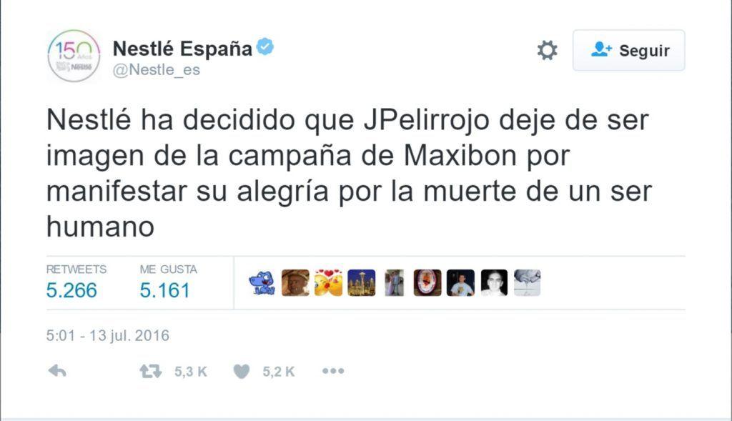 Tuit Nestlé España 2