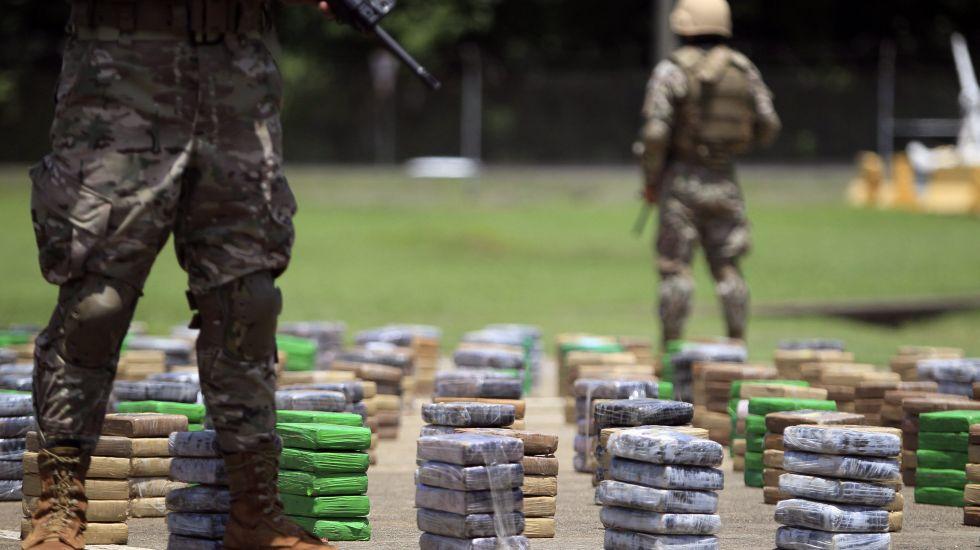México, EE.UU y Canada refrendan compromiso de combatir las drogas - Foto de archivo
