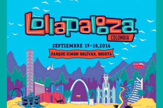 Cancelan primera edición del festival Lollapalooza en Colombia - Imagen de Internet