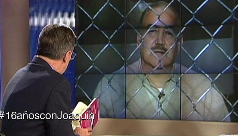 #16añosconJoaquin Entrevista a Raúl Salinas de Gortari