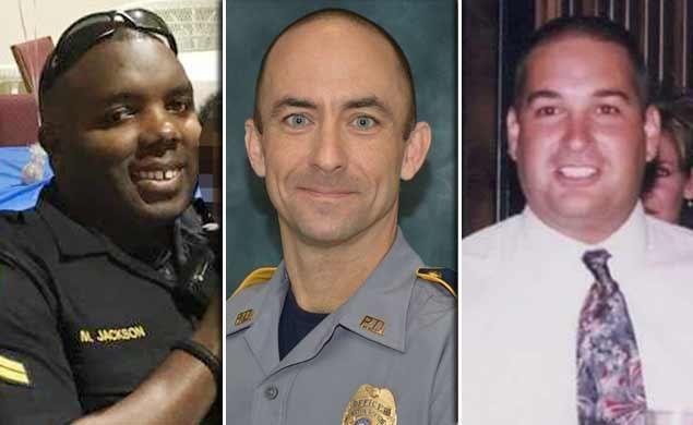 Estos son los oficiales abatidos en Baton Rouge