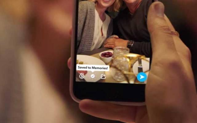 Snapchat ya permite guardar Snaps e Historias - Foto de Snapchat