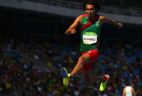 Alberto Álvarez termina en noveno lugar en final de salto triple en Río 2016 - Foto de Milenio