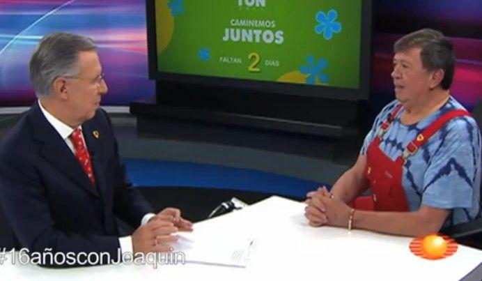 #16añosconJoaquin Entrevista a Chabelo